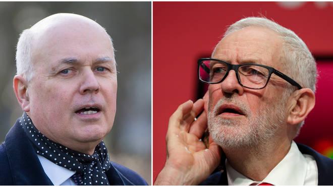 """Labour&squot;s Brexit position is """"deceit"""", argues Iain Duncan Smith"""