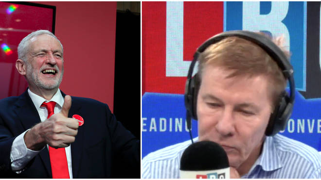 """Caller praises Labour Brexit position and accuses Andrew Pierce of """"Corbyn-bashing"""""""