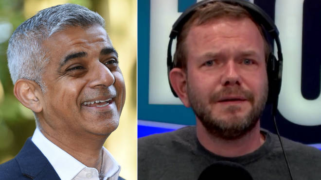 Sadiq Khan surprised James O'Brien with his answer