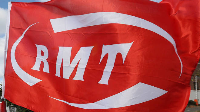"The RMT said the strike has ""strong support"""