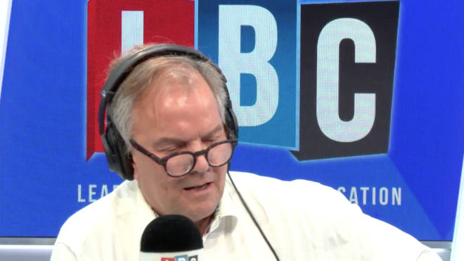 "Matt Frei shuts down pro-Brexit caller who complains about ""feral"" immigrants"