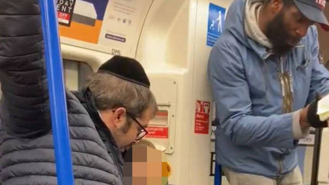 The man was subjected to an anti-Semitic tirade on a Northern Line train
