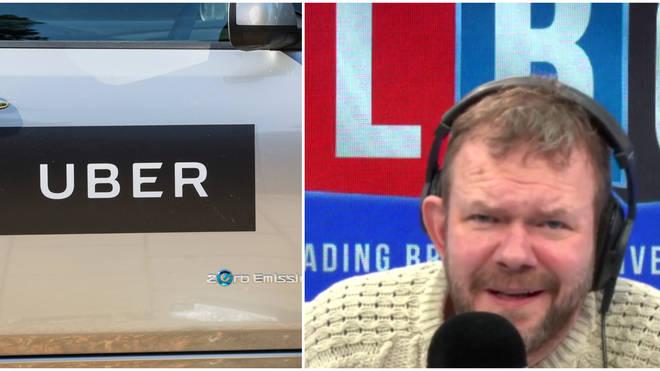 """Arrogant"" Uber deserves licence loss, black cab union chief tells James O&squot;Brien"