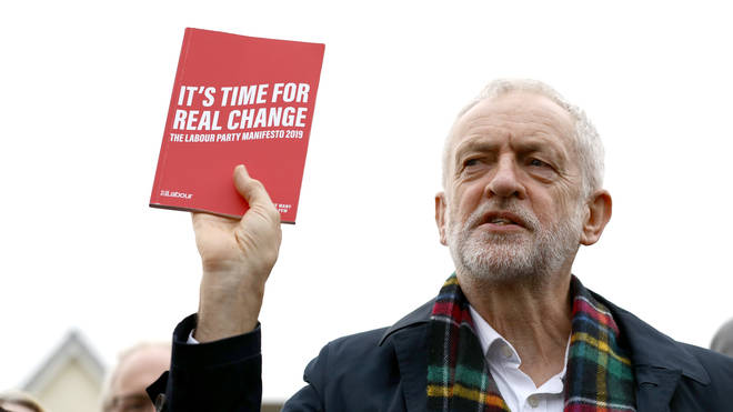 The Labour leader launch the manifesto in Tottenham, north London, on Tuesday