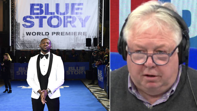 Nick Ferrari heard from a journalist backing the film Blue Story