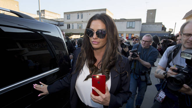 Katie Price has been declared bankrupt at a court in London