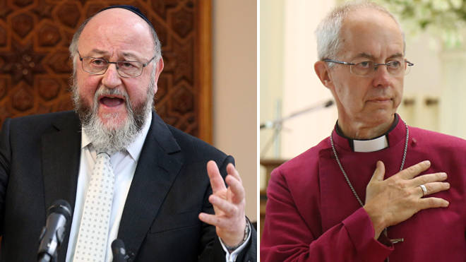 The Chief Rabbi's remarks were echoed by the Archbishop of Canterbury