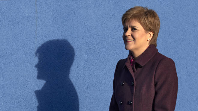The SNP leader will promise to protect Scotland from the Tories