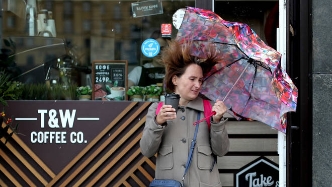 The UK is set for high winds as well as rain