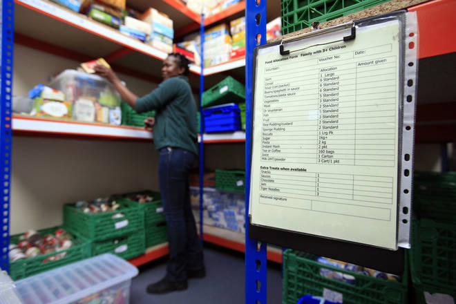 Centre manager at the Trussell Trust Brent Foodbank, Neasden, London