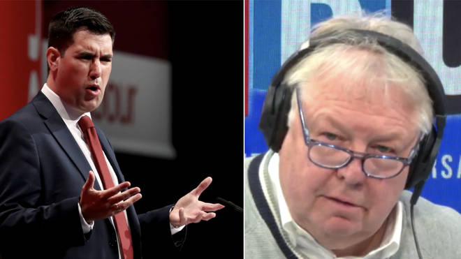 Nick Ferrari asked Richard Burgon about Labour's anti-Semitism crisis