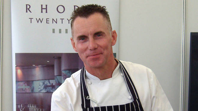 Gary Rhodes was described as a 'culinary legend'