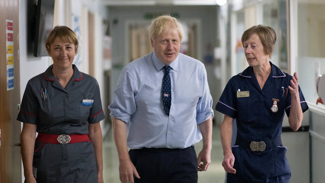 Boris Johnson has previously denied Labour's claims on the NHS