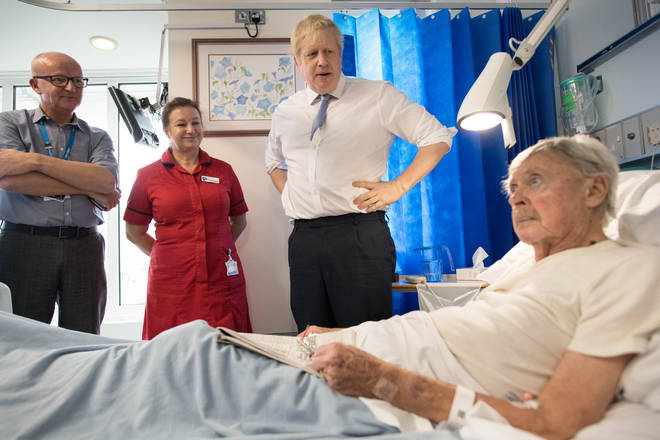 Boris Johnson has regularly dismissed suggestions the NHS is for sale
