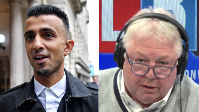 Nick Ferrari rowed with Shakeel Afsar over the LGBT protests