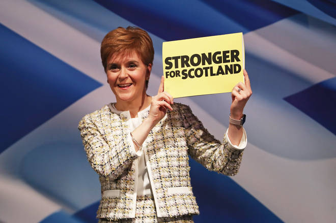 The First Minister pushed for an increase in power for the Scottish Parliament.