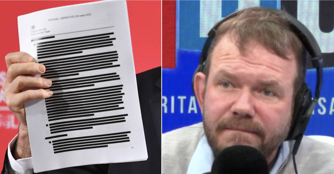 James O'Brien heard from the man who received the US trade document