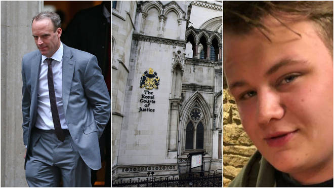 The family of Harry Dunn have launched legal action against Dominic Raab