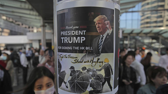 Messages of support for Donald Trump