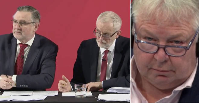 Nick Ferrari questioned Barry Gardiner about the incident with the ITV journalist