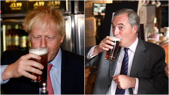 Johnson and Farage could be empty chaired at the debate