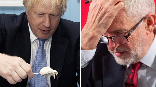 'No credible spending plan': Party leaders Boris Johnson and Jeremy Corbyn