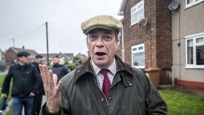 Mr Farage has been on the campaign trail in key areas