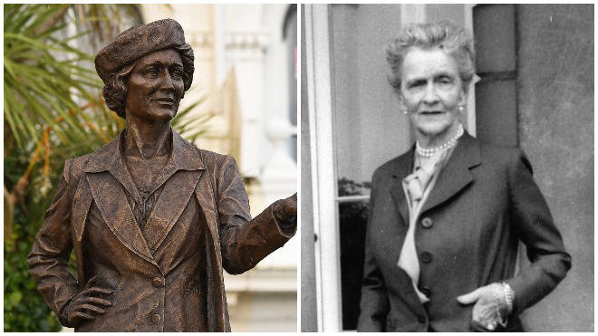 Nancy Astor was the first female MP to sit in Westminster