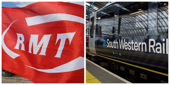 Talks between South Western Railway and the RMT collapsed on Thursday