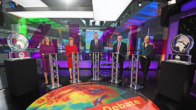 Party leaders had the chance to debate the climate emergency