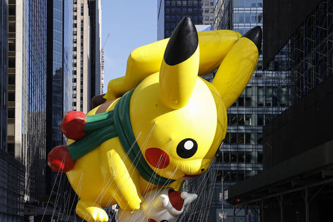 Pikachu was allowed to brave the winds and stay afloat