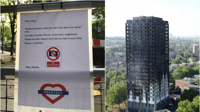 Carnival goers warned not to take selfies at Grenfell Tower