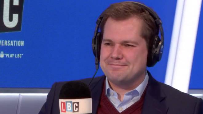 Robert Jenrick live on LBC