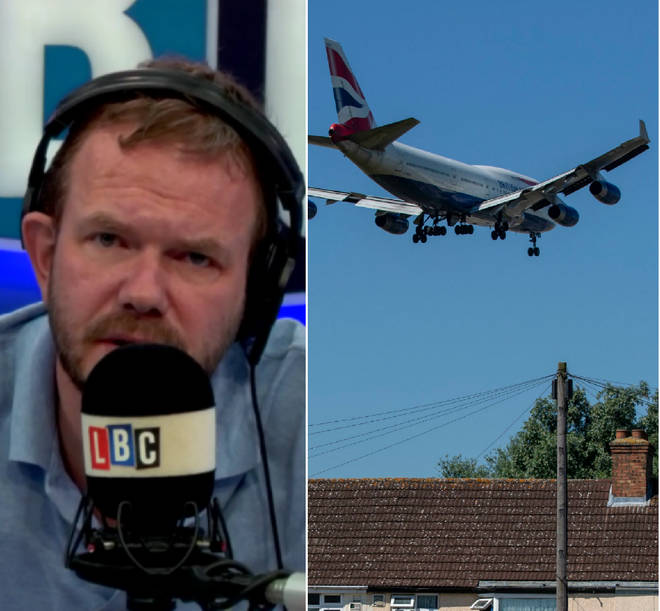 James O'Brien received this brilliant call on Heathrow