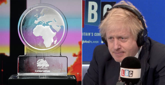 Boris Johnson responded to claims he was frightened to appear on the Channel 4 debate
