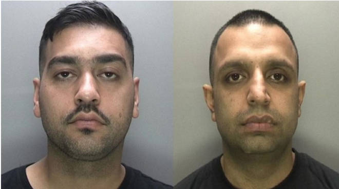 The pair have been sentenced to 44 years in prison between them