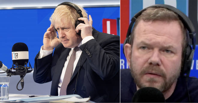 James O'Brien had a call from a fan of Boris Johnson